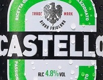 BIRRA CASTELLO PACKAGING RESTYLING