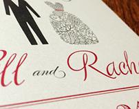 Save the Date - Bill & Rachel