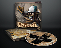 CD Cover for / REPCEPT / Majki P and Rajk /
