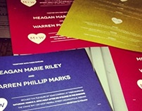 screenprinting  |  invites and Menus