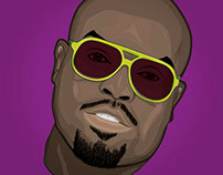 Cee Lo Green - Vector Illustration