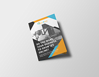 Digital Marketing Company - bi fold brochure 1
