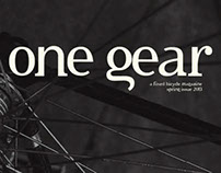 ONE GEAR, a fixed bicycle magazine