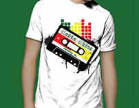 Rasta Rhino T-shirt Designs