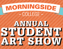 Annual Student Art Show Poster