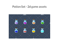 Potion Set Game Assets
