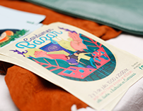 Ilustración para cartel de Cardumen Bazar Cuernavaca