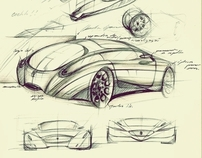 Automotive Sketch