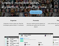 Now Play Us - Game Scheduling App