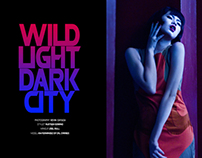 Wild Light, Dark City (Blanc Magazine)