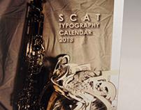 SCAT: Typography Calendar