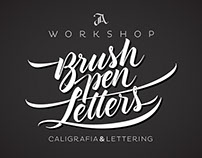 Brush pen Letters Workshop