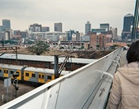 nelson mandela bridge johannesburg south africa