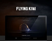 Flying Kiwi - Teaser website