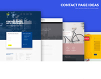 Contact Page Idea