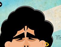 Maradona design for froh