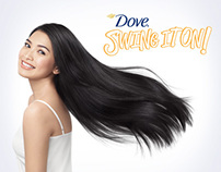 Dove Swing It On Microsite