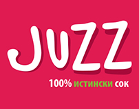Naming, logo, packaging & brand design: Juzz
