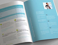 12 page Business Brochure clean style