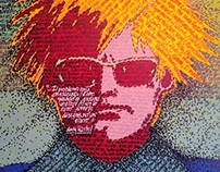 Contemporary Art: Tribute to: Andy Warhol