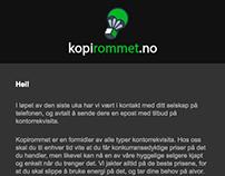 Email Design - HTML, CSS, Illustrator, Photoshop