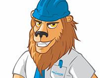 Mascote King - Leão Innovatore