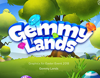 Art and Design for Gemmy Lands Easter Event