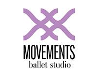 Movements Ballet Studio - Logo creation