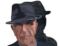 Leonard Cohen. Illustrations