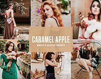 Free Caramel Apple Mobile & Desktop Lightroom Presets