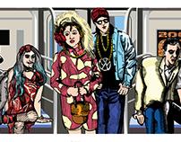 Celebrity Subway