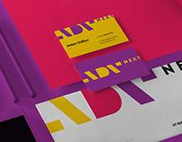 ADV Next. Advertising agency branding