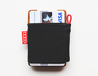 OONA wooden wallet / credit card holder