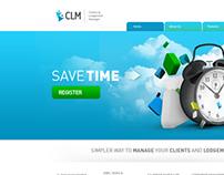 CLM website desgin
