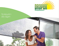 Brochure. Work for Draper Europe AB, Halmstad