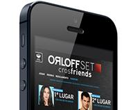 Aplicativo OrloffSET crosfriends