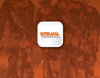 Strava Peloton Concept — app + brand enhancement