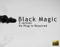 Black Magic After Effects Template