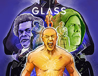Glass: Alternate Movie Poster