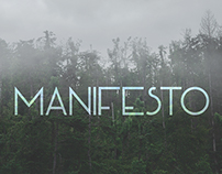 MANIFESTO -  free font
