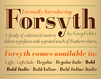 Forsyth Typeface