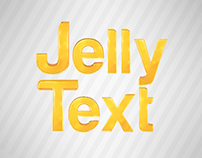 Jelly Text Motion Graphic Elements