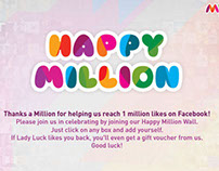 Myntra One Million app