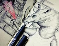 Moleskine Sketchbook -  Part 1