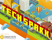 Techspark Illustration