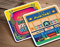 OYE Punjabi Coasters and Magnets