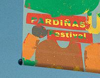Pardiñas Music Festival Identity