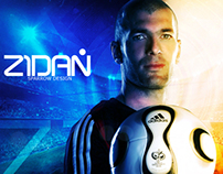 Zidan ( Zinedine Zidan) the legend