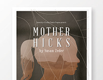 UF Theatre Production Mother Hicks Poster