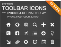 Toolbar Icons for iPhone 4 Retina Display